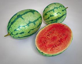 3D asset Water melon