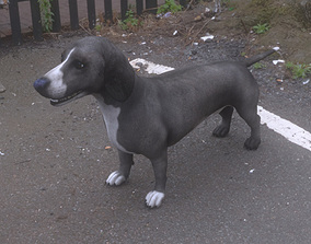 ANML-009 Dog 3D