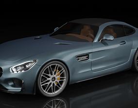 3D model Mercedes AMG GTs - v8 BITURBO