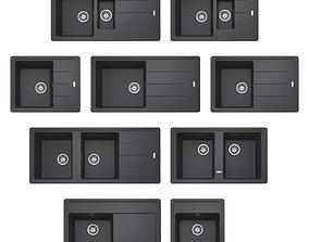 Granite sinks 3D