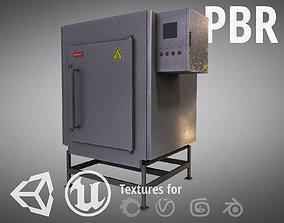 Electric Furnace 3D asset