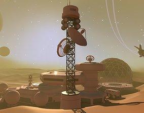 DUNES OF MARS 3D cartoon