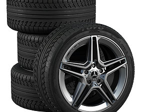 Mercedes wheels michelin 3D model