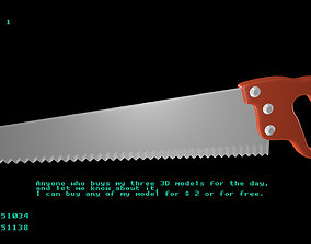Hand Saw 1 3D