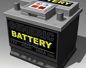 Generic Car Battery 3D