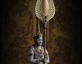 The Angle Thai Siting - Thai Pattern 3D print model