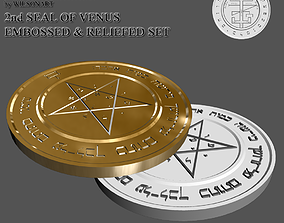 2nd Seal of Venus 3D print model