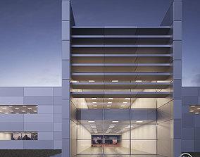 Office building - Technology Park facilities 3D asset