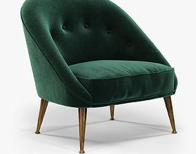 Brabbu Malay armchair 3D