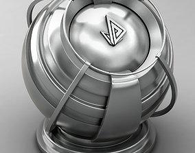 VRAY SHADER---METAL---Yttrium 3D model