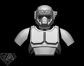Warhammer Combat Armor 3D printable model