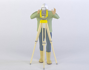 MAN 40 3D MODEL realtime