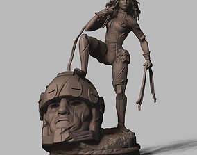 3D printable model Rogue X-men
