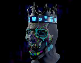 3D print model DeDsEc Coronet Mask from Watch Dogs Legion