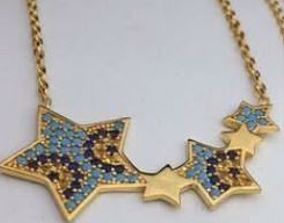 3D print model stars necklaces jewelry designer