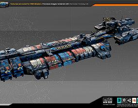 SciFi Cargoship G5 3D model