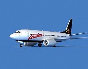 Boeing 737 MAX 7 Aloha 3D