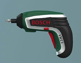 cordless 3D model Bosch Cordless Screwdriver