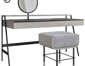 Dressing table VENERE By Gallotti Radice 3D model