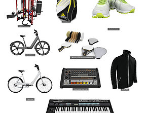 3D Sport and Hobbies 9 in 1