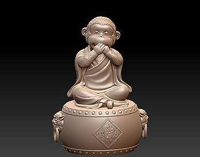 3D print model Lucky monkey