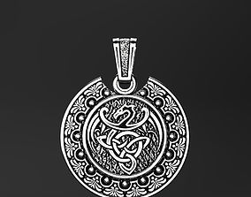 The Dragon of the Celts pendant 3D printable model