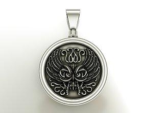 Owl medal 3D printable model