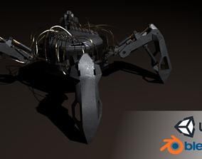 Hydraulic spider 3D asset