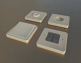 Socket Switches 3D model