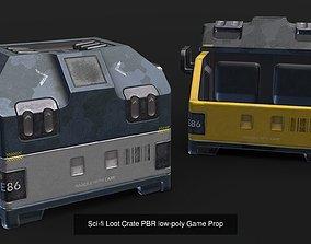 Sci-Fi Game Props 3D model