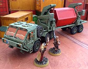 3D print model Military Transporter - 28mm Sci-Fi