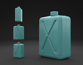 Scanned Old Jerrycan 3D Print Model