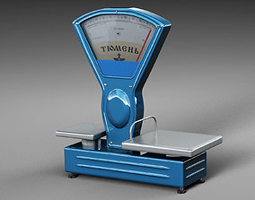 Old Style Scale 3D model