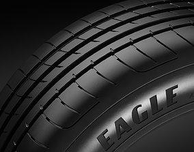 Tire R17 - Goodyear Eagle F1 Asymmetric 3 3D