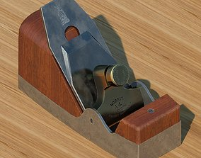 Wood plane Norris 4 3D model