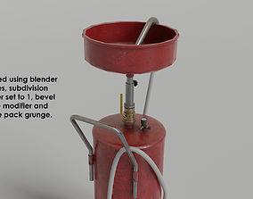 garage - waste oil collector 3D model