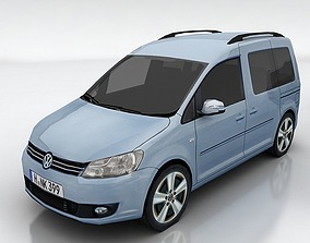 Volkswagen Caddy 3D model