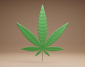 marijuana 3D