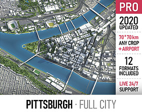 Pittsburgh 3D model realtime