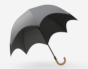 Umbrella 3D model low-poly PBR