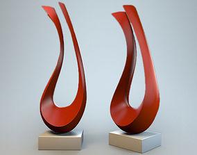 3D print model Sculpture Harp P