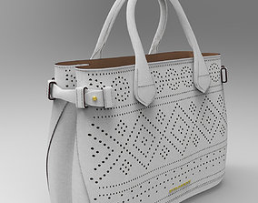 Burberry Leather Bag 3D