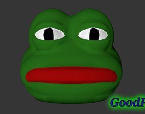 3D print model Pepe the Frog Mask