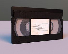 3D model VHS Tape