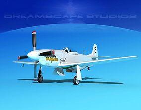 3D model P-51 Mustang Sport BARDAHL