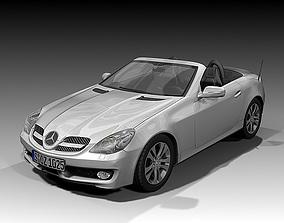 2008 Mercedes Benz SLK 3D model