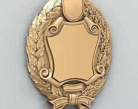 3D model Coat of arms decorative 005
