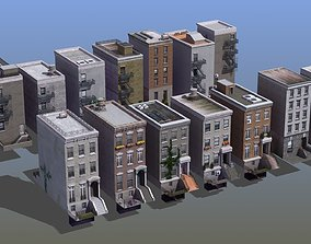 Town Houses 14 3D