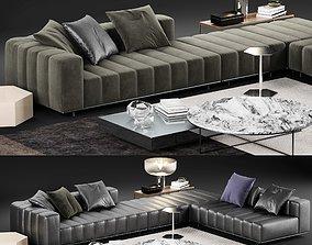 Minotti Freeman Tailor Sofa 3 3D