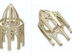 3D printable model GOTHIC ELEMENTS 2